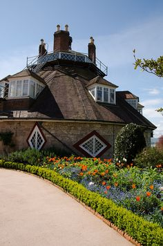 I must visit A La Ronde in  Devon, England. Built by two spinster cousins late 18th century, it's crammed full of eccentric wonderfulness.