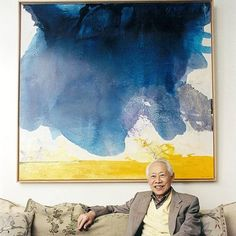 "#happybirthday Zao-Wou-Ki born #onthisday in 1921 ""It is undeniable that the influence of Paris on my painting has been central to my learning process as an artist but I must also say that I gradually rediscovered China as my personality affirmed itself. "" #zaowouki #zao #China #Paris #ModernArt #AbstractArt #Postwar #SchoolofParis #collectors#collection #youngcollectors #Artoftheday #Decor #Inspiration #Artlovers #postwarart #cernuschi #museecernuschi #abstractart#Postwar #gallery #Paris…"