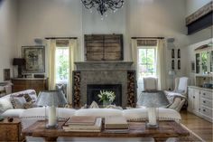 Photo by Med Dement  #decor #livingroom #homedesign #industrial #tuscan #airy #decorating