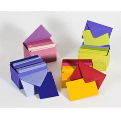 Com Office Accessories Stationery Motel Deluxe Uno Cards Envelopes Small And In A Variety Of Colors Shades