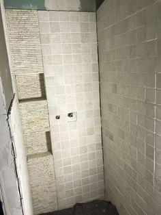 Fliesen Im Badezimmer Hochkant Bis Zur Decke Verlegt Badezimmer - Wie verlegt man bodenfliesen