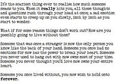 Then they break your heart. And you don't know how to move on...