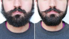 GIF Guide: How to Tame a Wild and Bushy Beard