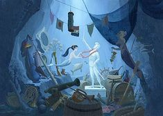 The Little Mermaid concept art  #disneyconceptart #disney