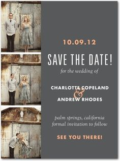 I don't normally like picture save the dates, but this is adorbz.