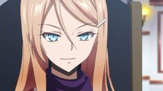 "Camilla ""Milla"" Zane as an anime (Fallen)"