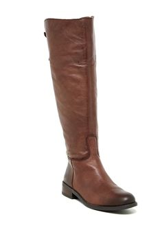 Vince Camuto | Kadia Leather Riding Boot | Nordstrom Rack