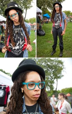 Street Fashion: Afro Punk Festival 2012