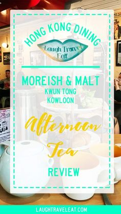 A review of Moreish & Malt afternoon tea, a chic, western style restaurant in Kwun Tong, Kowloon, Hong Kong.