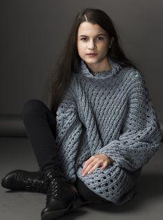 HANIA by Anya Cole Maddy Sweater Fall/Winter 2015