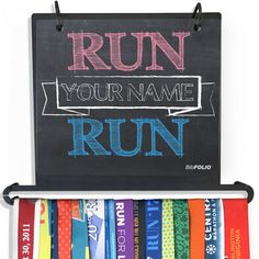 Finally, an all-in-one display for your race bibs and race medals that is sure to WOW. Our Race Medal and Bib Display turns your race bibs and medals into a work of art on your wall.