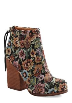 Jeffrey Campbell Girl of the Hour Tapestry Booties