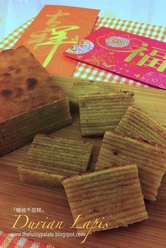 The Fussy Palate: Durian Lapis