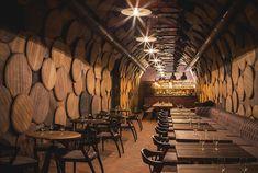 Retail Design Blog — Shustov Brandy Museum & Bar by Denis Belenko...