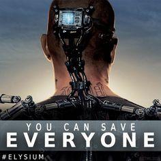 Elysium In Theaters September 20 (Japan)