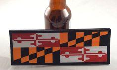 Maryland State Flag Slap Koozy by PagodaProvisions on Etsy