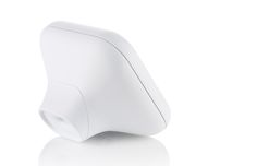 Plastic, ceramic, white, rubber, splitline