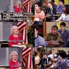 Drake and Josh<3