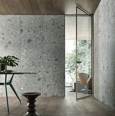 Terrazzo doesn't have to be limited to floors! If you've got a structurally sound surface, you've got the perfect canvas for terrazzo. #terrazzo #terrazzodesign #interiordesign #interiors #design
