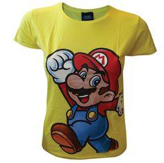 Nintendo womens t shirt - Super Mario