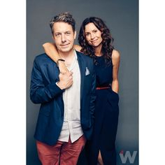 Minnie Driver and John Ross Bowie are back on #Speechless. Shot by @robbysphotos for #TheWrap. #FallTV #ABC @speechlessabc