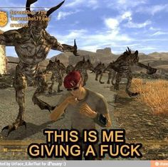 Fallout Boone // giving a fuck and totally about to die Fallout Tips, Fallout Funny, Fallout Fan Art, Video Game Memes, Video Games Funny, Funny Games, The Elder Scrolls, Fallout 3 New Vegas, Bethesda Games