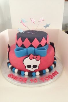 Monster high cake! ..cute and looks EASY