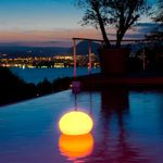 Flatball Outdoor Wireless LED Light with Remote
