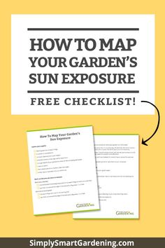 Do you know if your garden gets full sun, part sun or full shade? This free chart will tell you! It's easy to measure the sunlight in your garden. Get my step-by-step instructions and a free chart that'll help you measure your sun exposure. Organic Gardening Tips, Vegetable Gardening, Flower Gardening, Flowers Garden, Garden Planner, Starting A Garden, Seed Starting, Beautiful Fruits, Garden Journal