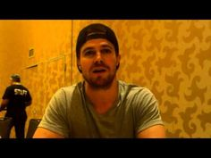 Stephen Amell at 2015 San Diego Comic-Con: Oliver Queen in #Arrow Season 4 #SDCC