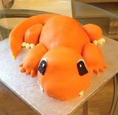 Our charmander cake