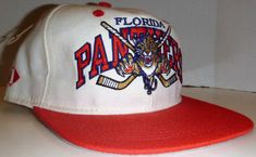 Vintage Florida Panthers Double Logo Fitted Hat Size 7 New With Tag Vintage Outfits, Florida Panthers, Hats For Sale, Nhl, Hockey, Logo, Fitness, Stuff To Buy, Logos