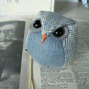 Boo the blue tweet baby owl £17.50
