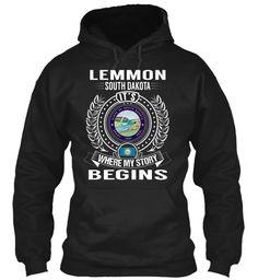 Lemmon, South Dakota - My Story Begins