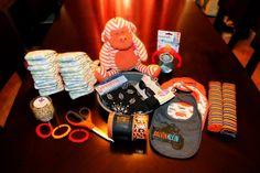 Zayra McCarty's Blog: Free Motorcycle Diaper Cake Tutorial