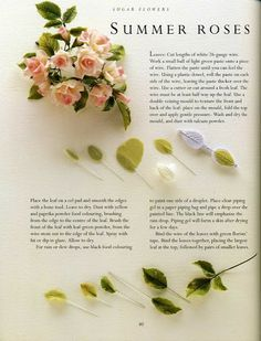 sugar flowers - SUMMER ROSES - Álbumes web de Picasa