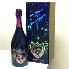 Champagne! A sneak peek at the new David Lynch Dom Perignon Brut & Rose packaging