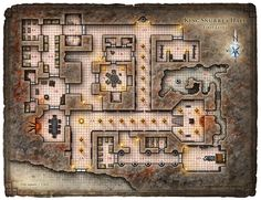 Dungeon #200 - Hall of the Fire Giant King; Map 1 (Digital DM & Player Versions)