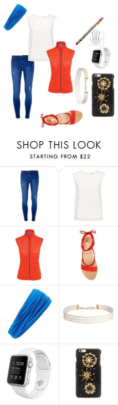 """""""Red, White, and Blue Jeans"""" by elysue ❤ liked on Polyvore featuring Dorothy Perkins, Finders Keepers, Icebreaker, Vince Camuto, L. Erickson, Humble Chic, Dolce&Gabbana, redwhiteandblue and july4th"""