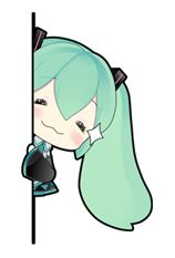 """Popular the world over. Virtual idol """"Hatsune Miku"""" debuts on LINE! Hip & cute Hatsune Miku stickers illustrated by """"putidevil"""" are now available! Manga Anime, Anime Chibi, Kawaii Anime, Hatsune Miku, Kawaii Drawings, Cute Drawings, Miku Chan, Line Sticker, Anime Sketch"""
