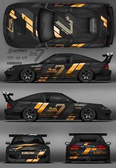 Pin by on racing car design, futuristic cars, sport cars. Car Stickers, Car Decals, Sport Cars, Race Cars, Design Autos, Racing Car Design, Drifting Cars, Futuristic Cars, Car Painting