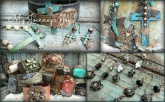 """""""Welcoming back Ms. Kerri of """"My Journey's Joy"""" We love her rustic bohemian style jewelry with a touch of romance!"""" March 1-3, 2013"""