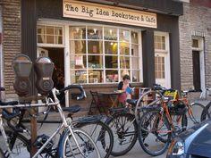 Librería-cafetería en Pittsburgh