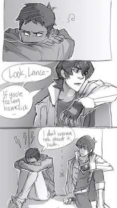 I don't ship klance but this drawing is really good!