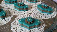 Mauresque pâte d'amandes et nutella ( pâtisserie algérienne )