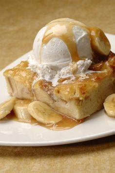 Recipe For Ohana Bread Pudding with Bananas Foster Sauce - Ohana Bread Pudding…