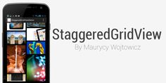StaggeredGridView - AndroidViews