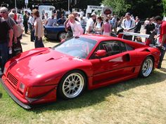 1987 Ferrari 288 GTO Evoluzione. Only 5 were made. They bridged the gap between the original 288 GTO and the F40.