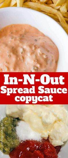 We made this and it tasted EXACTLY like In-N-Out's Spread!