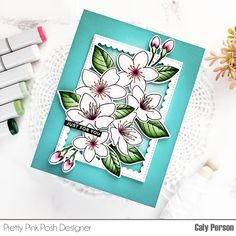 Pretty Pink Posh, Major Holidays, Cherry Blossom, I Card, Special Events, Card Making, Valentines, Stamp, Halloween